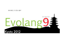 Evolang 9