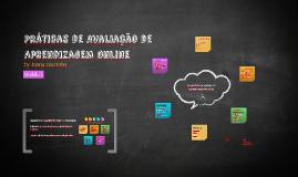 Práticas de Avaliação de Aprendizagem Online