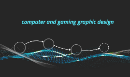 computer and gaming graphic design