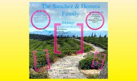 The Herrera/Sanchez Family