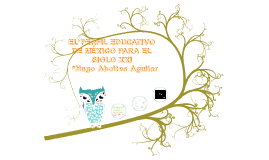 EL PERFIL EDUCATIVO DE MÉXICO PARA EL SIGLO XXI
