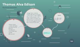 Copy of Thomas Alva Edison