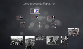 La naissance de Fascisme