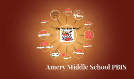 Amery Middle School PBIS