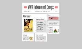 WW2 Internment Camps