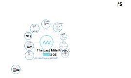Last Mile Project(Finals)
