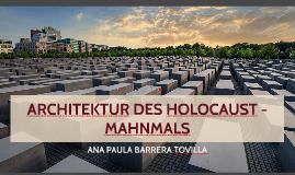 Holocaust - Mahnmals