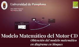 Copy of Modelo Matemático del Motor CD