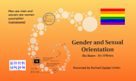 Sexuality and Sexual Orientation