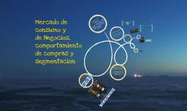 Copy of Mercado de Consumo y de Negocios, Comportamiento de Compras y Segmentación