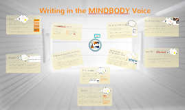 Writing in the MINDBODY Voice