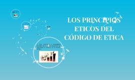 LOS PRINCIPIOS ETICOS DEL CÓDIGO DE ETICA