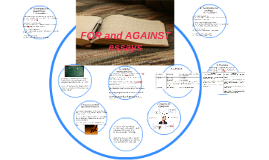 FOR and AGAINST essays