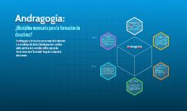 Andragogía: