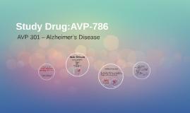 Study Drug:AVP-786