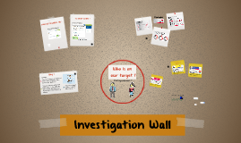 Investigation Wall