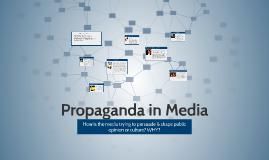 Propaganda in Media