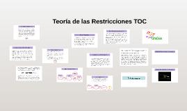 Copy of Teoría de las restricciones TOC