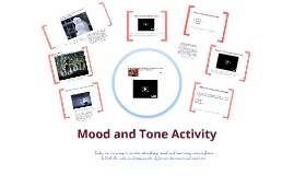 Mood and Tone activity