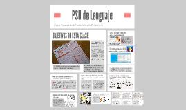 Copy of PSU de Lenguaje