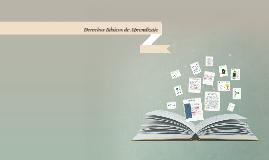 Copy of Derechos Básicos de Aprendizaje