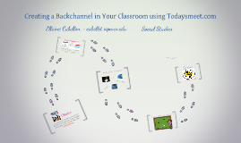 Copy of Creating a Backchannel in your Classroom using Todaysmeet.com