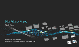 No More Fees - revised