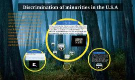 Diversifing the U.S.A