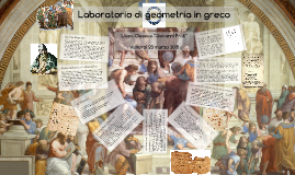 Laboratorio di geometria in greco