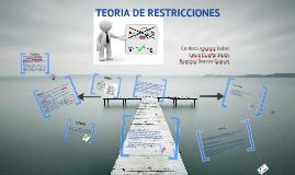 Copy of Copy of Teoria de Restricciones