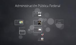 Administración Pública Federar