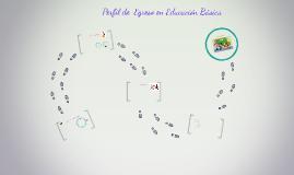 Perfil de  Egreso en Educación Básica