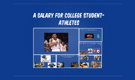 A Salary for college student-athletes