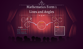Mathematics Form 1,Lines and Angles