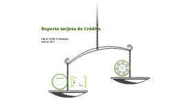 Reporte Tarjeta de Crédito