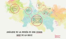 Análisis de la poesía de sor juana ines de la cruz