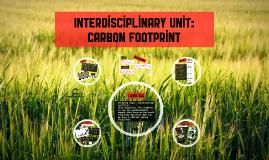 Interdisplinary unit: carbon