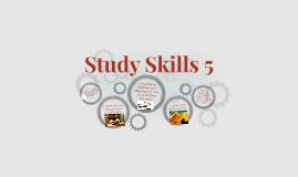 Study Skills 5
