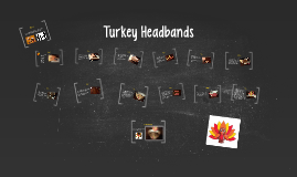 Turkey Headbands