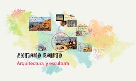 Arquitectura y escultura egipcia