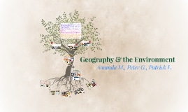 Geography and the Environment