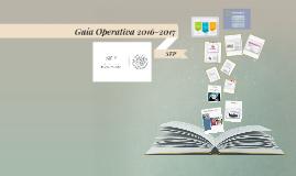 Guía Operativa SEP 2016-2017