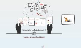Copy of Tendencias pedagógicas en el aula