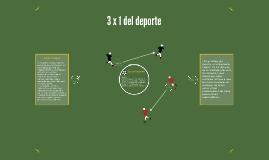 3x1 del deporte