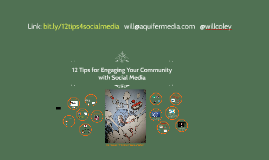 12 Tips for Engaging Your Community with Social Media