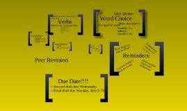 Peer Revision