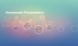 Homework Presentation