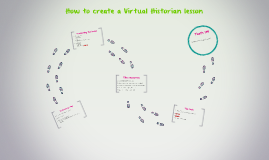 How to create a Virtual Historian lesson