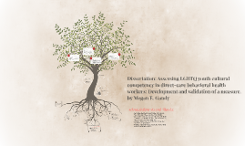 (version 2) Dissertation: Assessing LGBTQ youth cultural competency in d