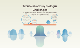 Troubleshooting Dialogue Challenges